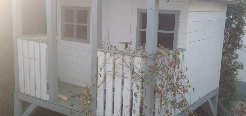 Hausmeisterservice – Abriß – Rückbau eines Gartenhauses
