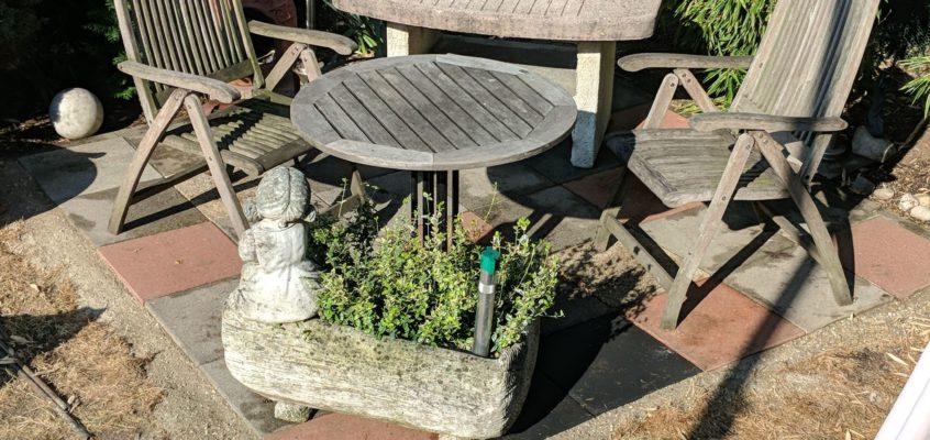 Hausmeisterservice – Gartenpflege – Anlegen eines Grillplatzes für 2 Personen