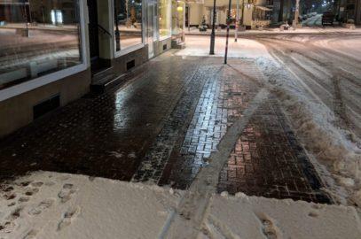 Winterdienst - Ladenlokal