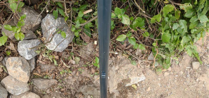 Hausmeisterservice – Gartenpflege – Zaunpfosten erneuern nach Schadensfall