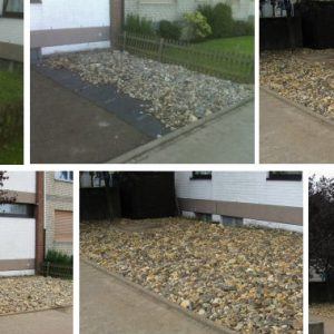 Aufbau eines Steingartens